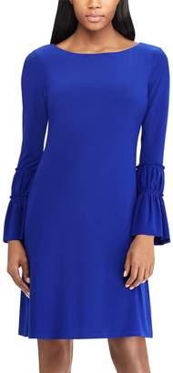 Chaps Women's Bell Sleeve Sheath Dress