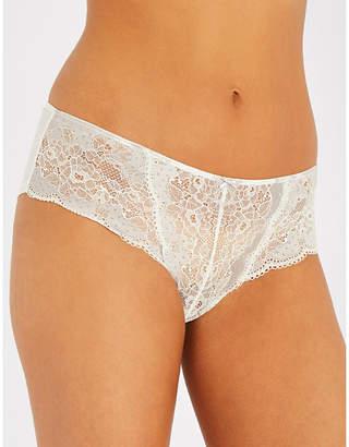 Panache Clara mesh and lace briefs