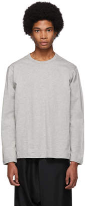 Comme des Garcons Grey Forever Long-Sleeve T-Shirt