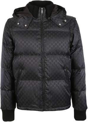 Gucci Jacquard Quilted Jacket