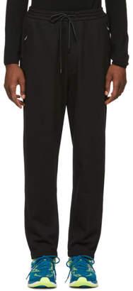 Juun.J Black Lapped Lounge Pants