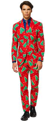 Opposuits Men's OppoSuits Slim-Fit Fine Pine Novelty Suit & Tie Set