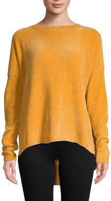 Lord & Taylor Textured Long-Sleeve Sweater