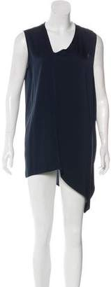 Zero Maria Cornejo Silk Asymmetrical Dress