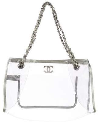 Chanel Naked Shopping Tote