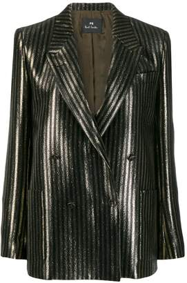 Paul Smith glittered striped blazer