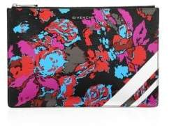 Givenchy Iconic Prints Fire Flower Zip Pouch
