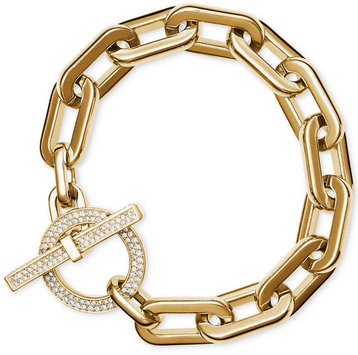 MICHAEL Michael KorsMichael Kors Chain Link Toggle Bracelet