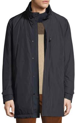 Moncler Men's Daumeray Snap-Front Utility Jacket