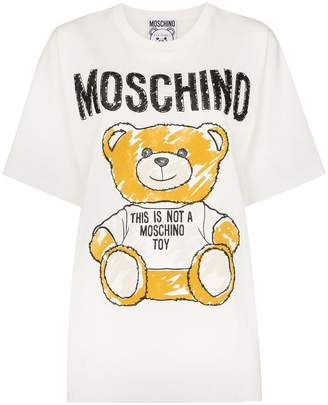 Moschino Teddy Bear logo T-shirt