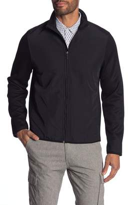 Perry Ellis Fleece Lined Knit Jacket