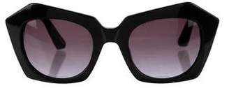 Elizabeth and James Geometric Tinted Sunglasses