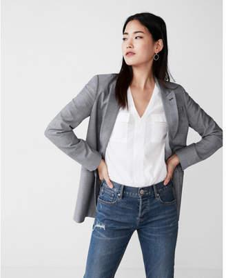 Express patch pocket chelsea shirt
