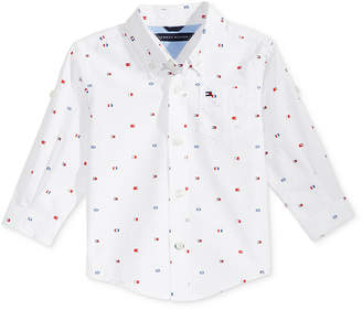 Tommy Hilfiger Printed Cotton Shirt, Baby Boys