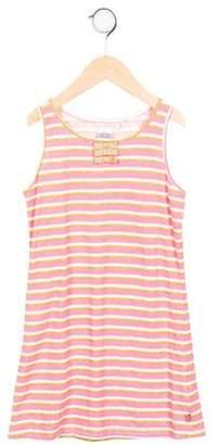 Billieblush Girls' Sleeveless Striped Dress