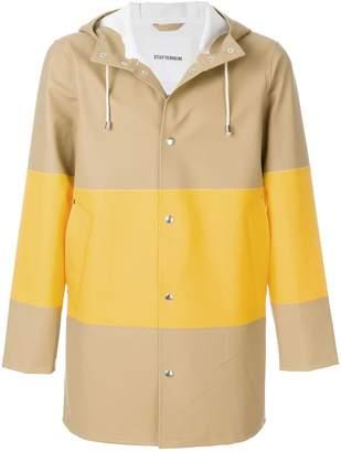 Stutterheim colour block raincoat