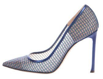 Christian Dior Wired Pointed Toe Pumps