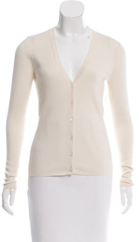 MICHAEL Michael Kors Michael Kors Collection Knit V-neck Cardigan