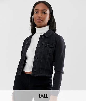 Noisy May Tall denim jacket
