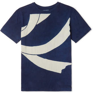 Blue Blue Japan Slim-Fit Printed Cotton-Jersey T-Shirt