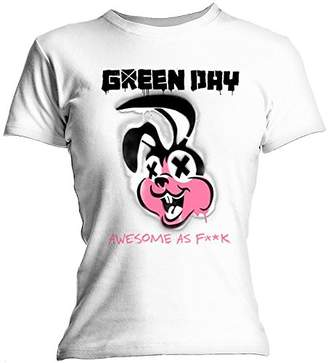 Bravado Green Day Overspray Women's T-Shirt