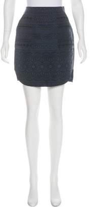 3.1 Phillip Lim Silk Printed Skirt