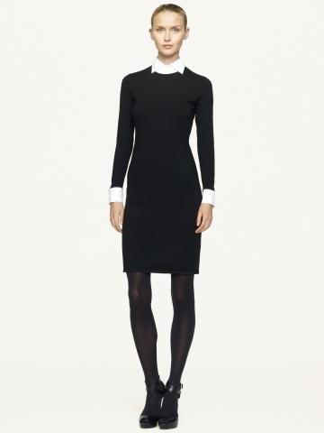 Black Label Cashmere-Blend Dress