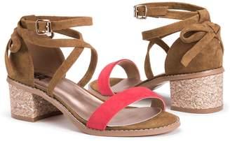 Muk Luks Sasha Women's Sling-Back Wedge Sandals