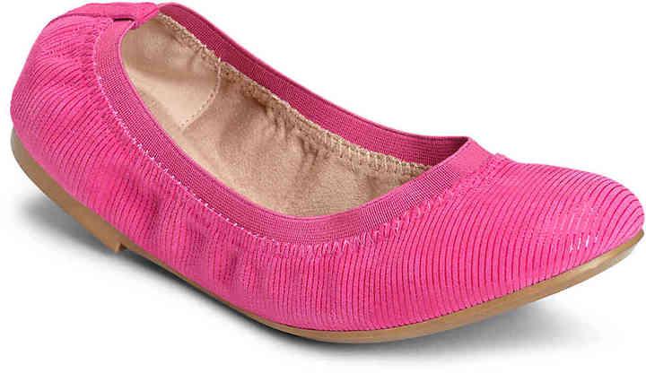 AerosolesWomen's Fable Ballet Flat -Pink Suede
