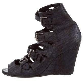 Surface to Air Embossed Cage Wedges