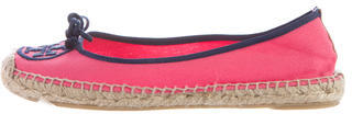 Tory Burch Tory Burch Canvas Round-toe Espadrilles
