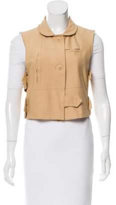 Fendi Casual Button Up Vest