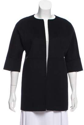 Michael Kors Wool Open Front Jacket