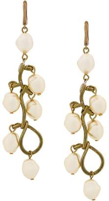 Marni faux-pearl pendant earrings