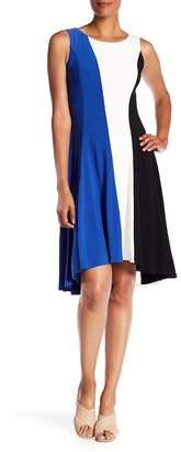Nine West Sleeveless Hi-Lo Dress