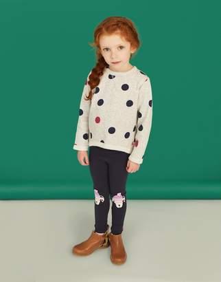 Joules Clothing Wilde Novelty Knee Leggings 1yr