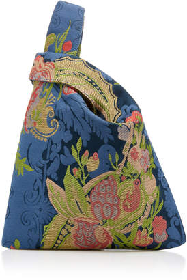 Hayward Floral Silk Jacquard Mini Shopper Bag