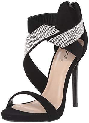 Qupid Women's Gladly-15 Dress Sandal
