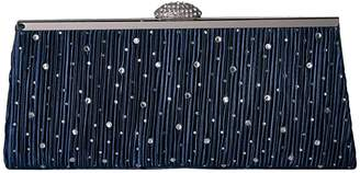 Jessica McClintock Sloan Pleated Frame Clutch