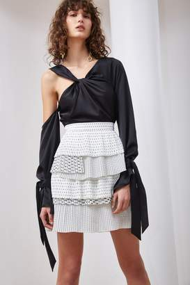 C/Meo COLLECTIVE FUNDAMENT SKIRT ivory spot