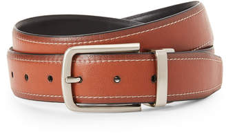 Tommy Hilfiger Tan & Black Reversible Faux Leather Belt