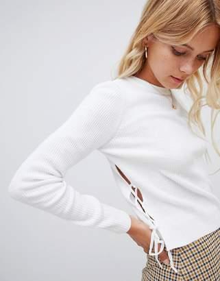 Glamorous cropped sweater