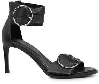 AllSaints Irma Leather Ankle-Strap Sandals