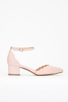 bc749cb95e3 Pink Low Heel Court Shoe - ShopStyle UK