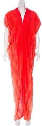 Zero Maria Cornejo Oversize Maxi Dress