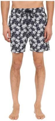 Jack Spade Tropical Floral Grannis Swim Trunks Men's Swimwear