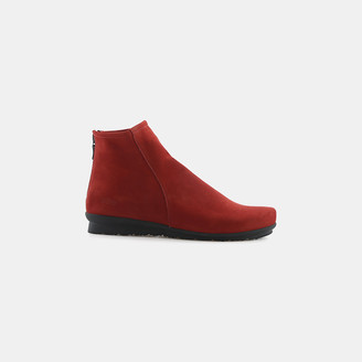 Baryky Nubuck Leather Bootie $415 thestylecure.com
