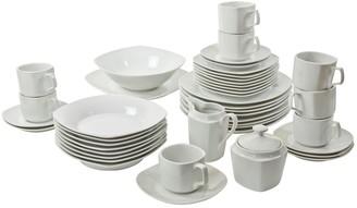 10 Strawberry Street 45-pc. Square Dinnerware Set