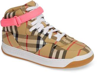 Burberry Groves High Top Sneaker
