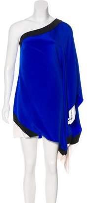Jay Godfrey One-Shoulder Midi Dress w/ Tags